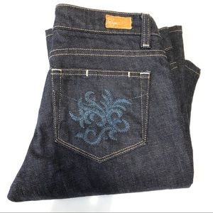 Paige Hollywood Hills Bootcut Jeans Size 28 NWOT